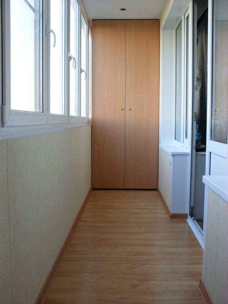 Шкаф на балкон 9.